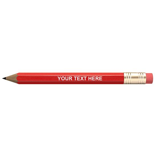 Logo Personalized Golf Pencils