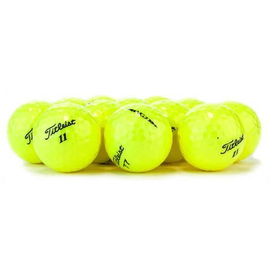 Titleist VG3 Yellow Logo Overrun Golf Balls