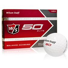 Wilson Staff Fifty Elite Personalized Golf Balls
