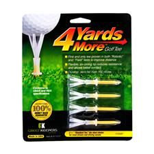 4 Yards More 2-3/4 Inch Tee - 4 CT
