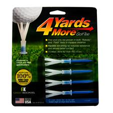 4 Yards More 3-1/4 Inch Tees - 4 CT