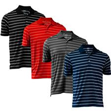 Adidas Men's Puremotion 2-Color Stripe Polo