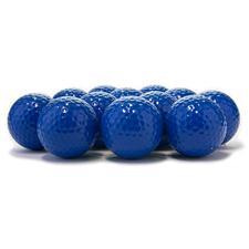 Blank Colored Custom Logo Golf Balls - Blue