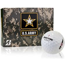 Bridgestone e6 Military Golf Balls - U.S. Army