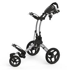 Clicgear Rovis RV1S Swivel Push Cart - Silver-Black