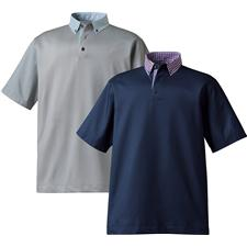 Shop footjoy golf shirts at for Button down collar golf shirt