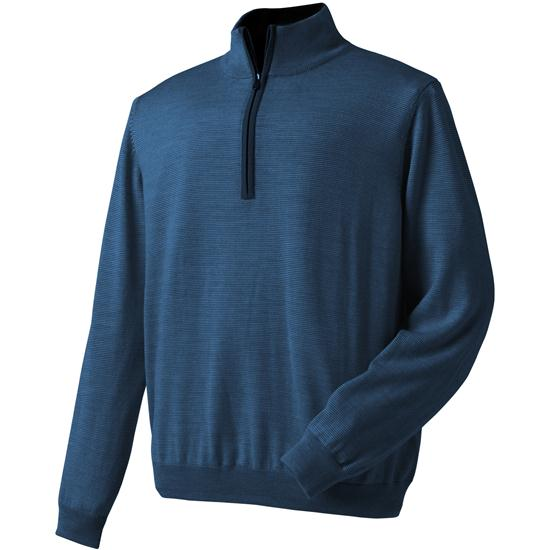FootJoy Men's End on End Merino Half-Zip Pullover