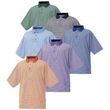 FootJoy Men's ProDry Performance Lisle Feeder Stripe Golf Shirt