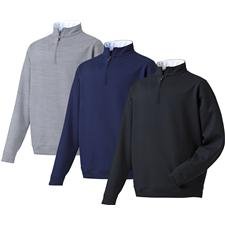 FootJoy Men's Spun Poly Performance Half-Zip Pullover