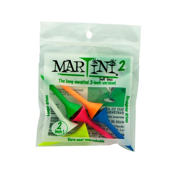 Martini Golf Tees - 2 Inch - 6 CT
