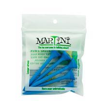 Martini Golf Tees - 3 1/4 Inch - Blue - 5 CT
