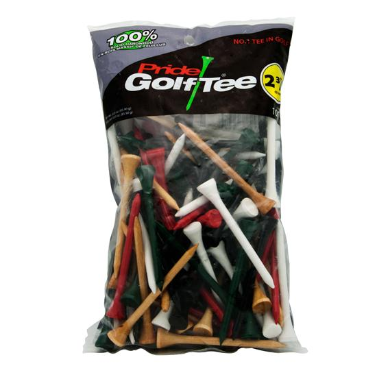 Pride Sports 2-3/4 Inch Golf Tees - 100 CT