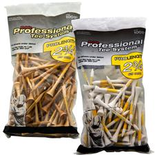 Pride Sports 2 3/4 Inch Pro Length Golf Tees - 100 CT