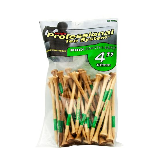 Pride Sports 4 Inch Golf Tees - Pro Length Max