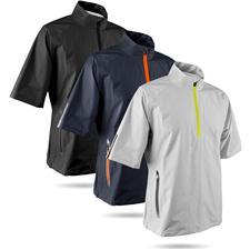 Sun Mountain Men's Cumulus Short Sleeve Pullover