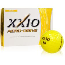XXIO Aero-Drive Yellow Golf Balls - All #88