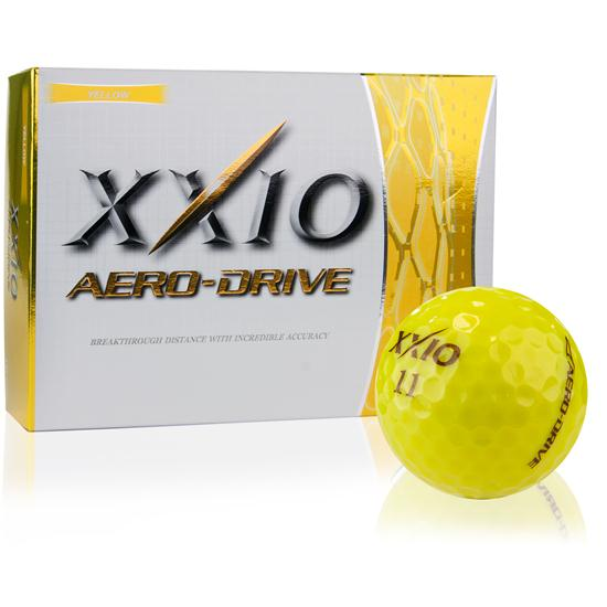 XXIO Aero-Drive Yellow Golf Balls