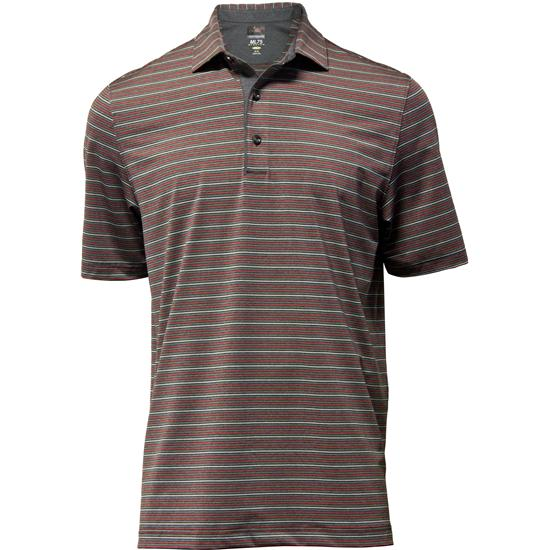 Greg Norman Men's Sequoia Stripe Polo