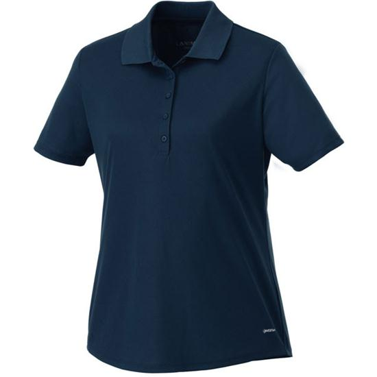 Landmark Edge Polyester Pique Polo for Women