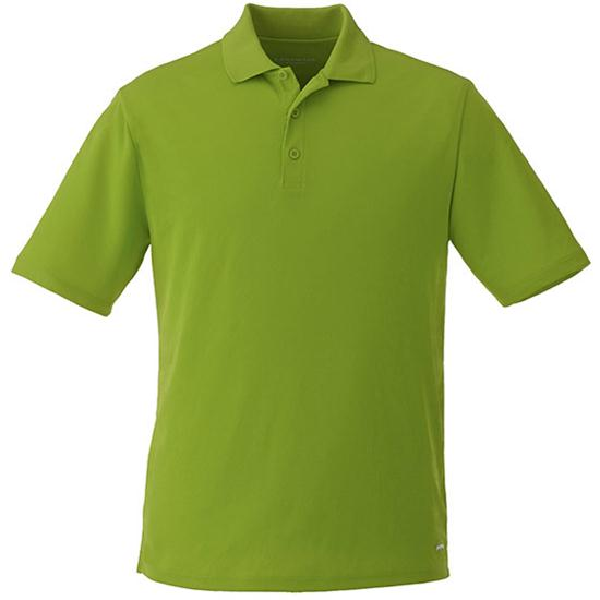 Landmark Men's Edge Polyester Pique Polo