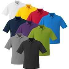 Landmark Custom Logo Edge Polyester Pique Polo