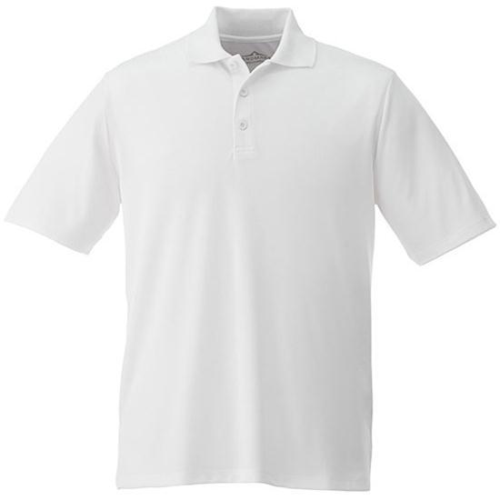 Landmark Men's Edge Polyester Pique Polo
