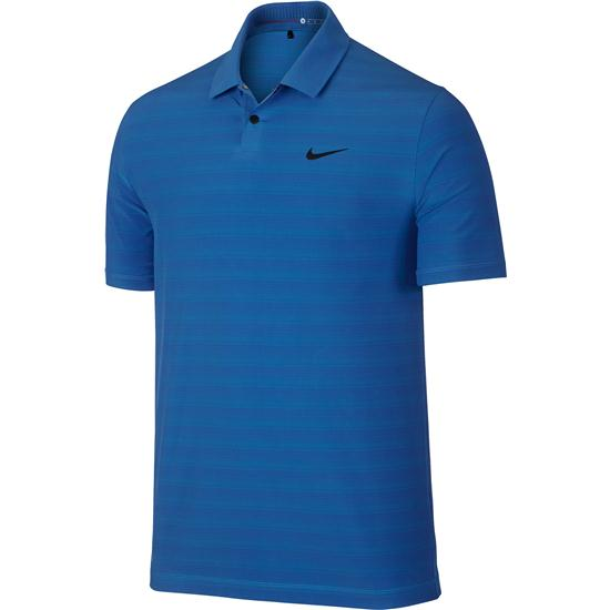 Nike Men's TW Woven Stripe Polo Manufacturer Closeout