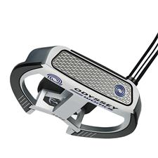 Odyssey Golf Works Versa 2-Ball Fang Lined Putter w/ SS Grip
