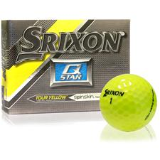 Srixon Q-Star Tour Yellow Golf Balls