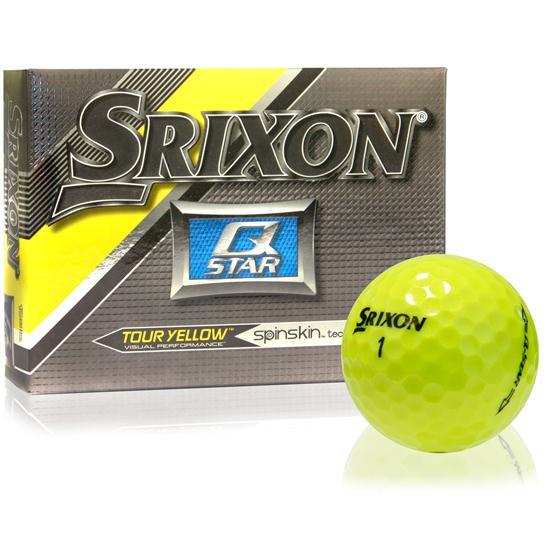 Srixon Q-Star Tour Yellow Golf Balls