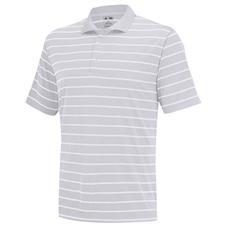 Adidas Men's PureMotion 2-Color Stripe Jersey Polo Closeout
