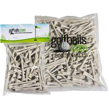 Blemished  Blemished 2 3/4 Inch Golf Tees