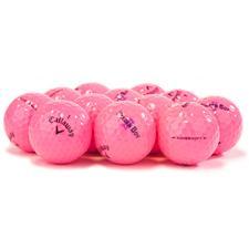 Callaway Golf Logo Overrun Supersoft Pink Golf Balls