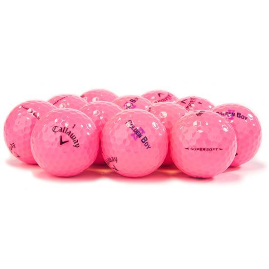 Callaway Golf Supersoft Pink Golf Balls