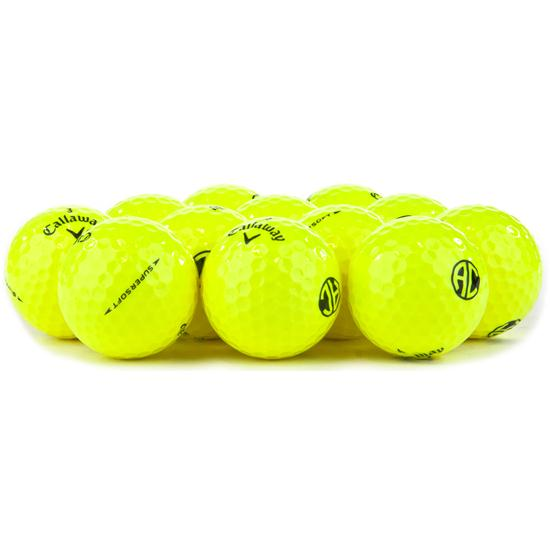 Callaway Golf Prior Generation Supersoft Yellow Golf Balls