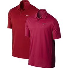 Nike Men's TW Engineered Stripe Polo Manf. Closeouts