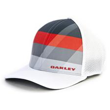 Oakley Men's Silicon Bark Trucker 3.0 Print Hat