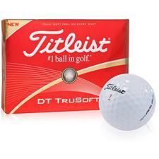 Titleist Custom Logo DT TruSoft Golf Balls