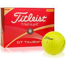 Titleist Custom Logo DT TruSoft Yellow Golf Balls