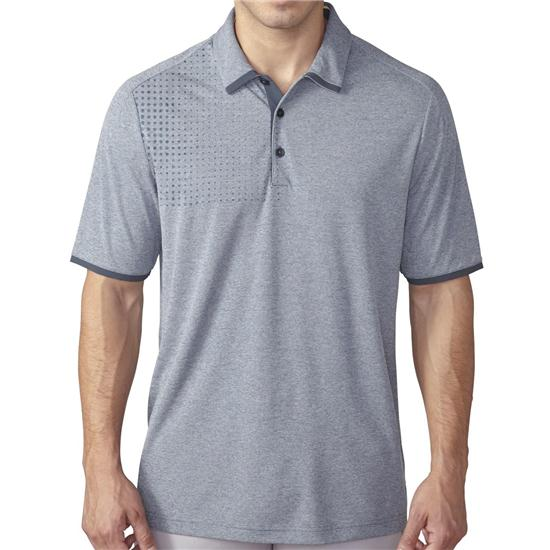 Adidas Men's ClimaChill Dot Fade Heather Polo
