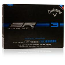 Callaway Golf Speed Regime 3 Logo Golf Balls