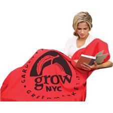 Custom Logo Custom Logo Sweatshirt Blanket