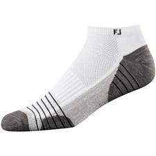 FootJoy Men's TechSof Tour Low Cut Socks - White