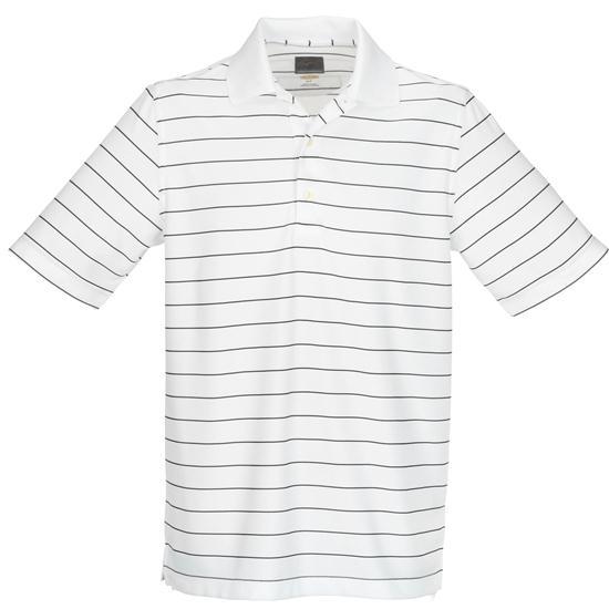 Greg Norman Men's ProTek Micro Pique Stripe Polo
