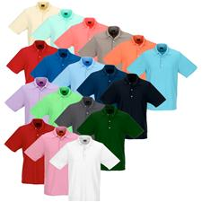 Greg Norman Custom Logo Protek Micro Pique Polo