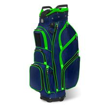 JCR TL650 Personalized Cart Bag - Navy-Lime
