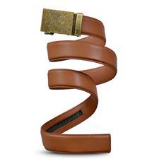 Mission Belt Wide Bronze Belt - Saddle Brown - X-Large