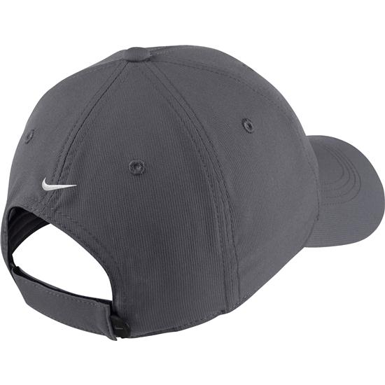 39ac0c41383b Nike Men s Legacy91 Tech Blank Custom Logo Hat - Dark Grey Golfballs.com