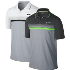 Nike Men's Momentum Stripe Polo Manufacturer Closeout