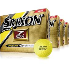Srixon Z Star 4 Yellow Golf Ball - Buy 3 DZ Get 1 DZ Free